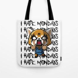 I hate the mondays Tote Bag