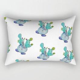 Prickly Pear Cactus Boi Rectangular Pillow
