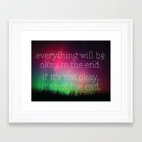 inspirational Framed Art Prints featuring Inspirational by TigerLillyJules