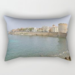 Alghero - Ramparts Rectangular Pillow