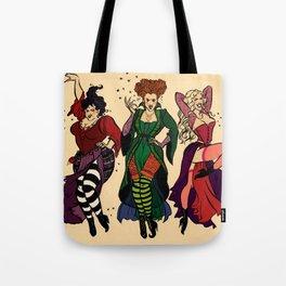 Hocus Pocus Pin-ups ~Color Tote Bag