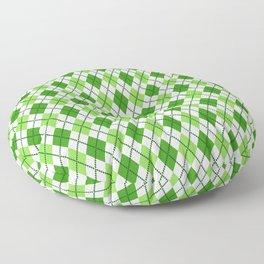 Happy St. Patrick's Day Pattern   Ireland Luck Floor Pillow