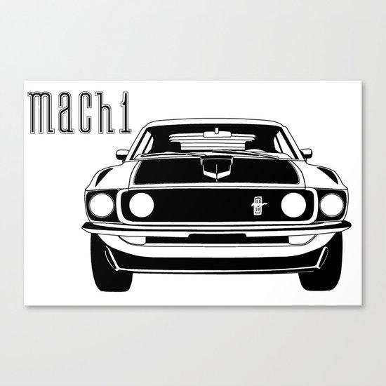 Mach 1 Canvas Print