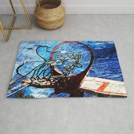 Basketball art 10 Rug