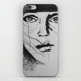 Freckle Face iPhone Skin