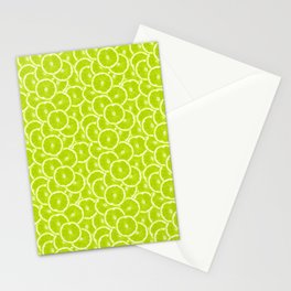 You're sub-lime! (Seamless lime pattern) Stationery Cards
