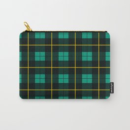 Minimalist Wallace Hunting Tartan Ancient Carry-All Pouch