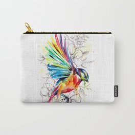 Soaring Blue Tit Carry-All Pouch