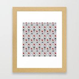 John Pattern Framed Art Print