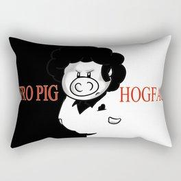 Hogface Rectangular Pillow