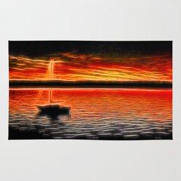 Sunset Sail Rug