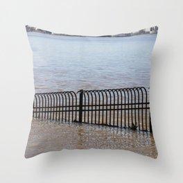 City Spillway Throw Pillow