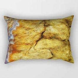 Earth Art Canyon Colors Rectangular Pillow