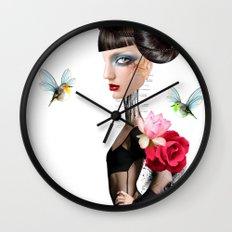 Eileen sailing Wall Clock