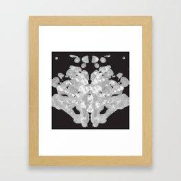 Rorschach Inkblot Test Framed Art Print