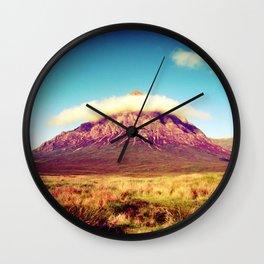 Buachaille Etive Mòr, scotland. Wall Clock