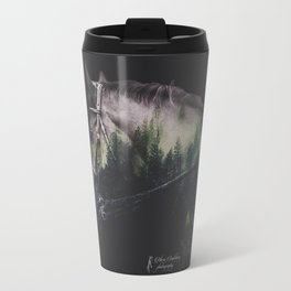 Double Exposure Horse Travel Mug