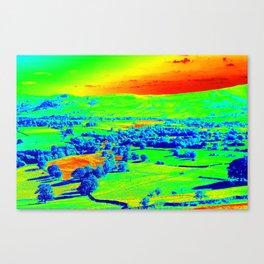 Thermal art 074 Canvas Print