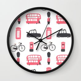 London Town Wall Clock