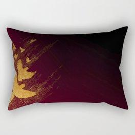 Parrot golden milky way Rectangular Pillow