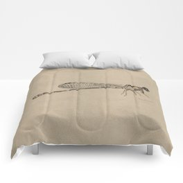 Dragonfly Fossil Comforters