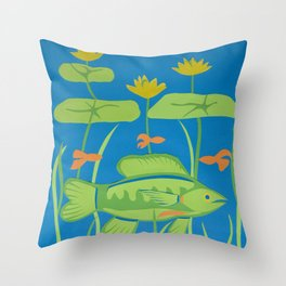 In the Shallows Throw Pillow