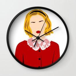 Sabrina Before Her 16th Wall Clock