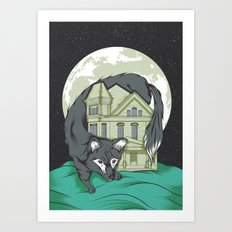 My House Art Print