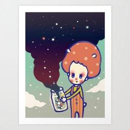 magic little star Art Print