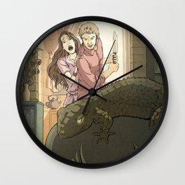 A modern St George Wall Clock