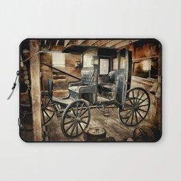 Vintage Horse Drawn Carriage Laptop Sleeve