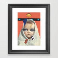 Universe is born. Framed Art Print