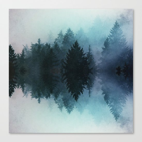 Forest Reflections II Canvas Print