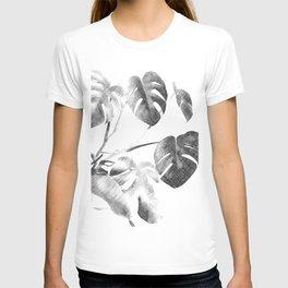 BW Sketched Monstera T-shirt