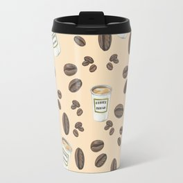 Coffee break Pattern Travel Mug