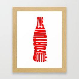 The Fortune Bottle Framed Art Print