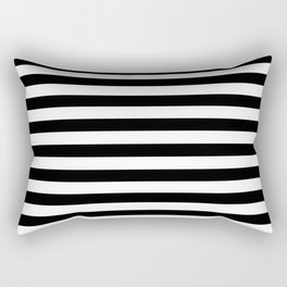 line by line Rectangular Pillow