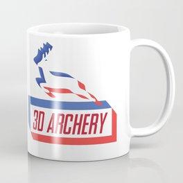 3D ARCHERY Coffee Mug