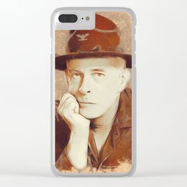 Harry Morgan, MASH Clear iPhone Case