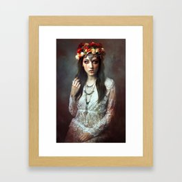 Domina Somnia Framed Art Print