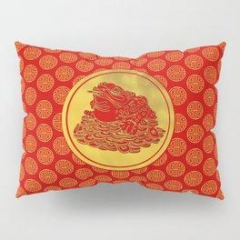 Three Legged Lucky Money Frog Feng-shui Pillow Sham