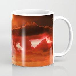 Road to hell sign Coffee Mug
