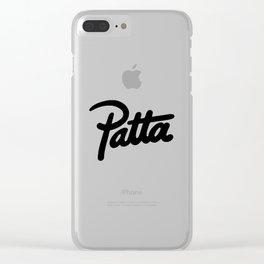 Patta Clear iPhone Case