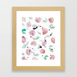 blazz studios: Spring Tulips Framed Art Print