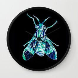 Deer Fly (Inverted) Wall Clock