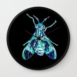 Deer Fly (Inverted) Wall Clock