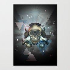 Pyramid skulls Canvas Print