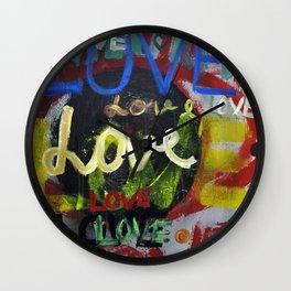 lLOVE Wall Clock
