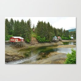 Seldovia Slough - Alaska Canvas Print