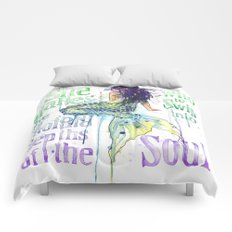 Mermaid : Profound Depths Comforters